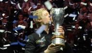 Нил Робертсон намерен защитить свой титул прошлогоднего победителя Чемпионата Великобритании