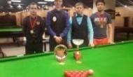 Евгений Созыкин стал победителем 3 этапа Baltic Snooker League 2015