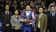 Дин Джуньху стал победителем Haining Open 2015