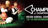 Champion of Champions 2015. 1/2 финала
