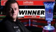 Марк Аллен — победитель Ladbrokes Players Championship 2016 (видео)