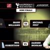 Riga Masters 2016. 1/2 финала