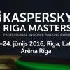 Riga Masters 2016. Второй раунд