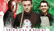 Welsh Open 2017. Первый раунд
