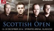 Scottish Open 2016. Первый раунд