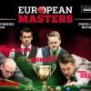 Онлайн трансляции European Masters 2016