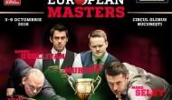 European Masters 2016. Результаты, турнирная таблица