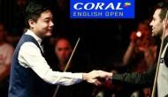 Видео первого дня English Open 2016