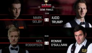 О'Салливан и Трамп разгромив оппонентов вышли в финал European Masters 2016