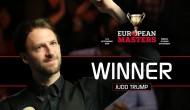 Джадд Трамп — победитель European Masters 2016