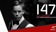 Али Картер и Росс Мьюир делают по максимуму в один день квалификации German Masters!