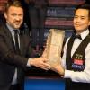 Марко Фу празднует победу на Scottish Open в Глазго