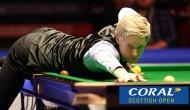 Второй день Scottish Open: завершен первый круг