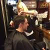 Ронни О'Салливан вновь посетил парикмахерскую The Wanstead Barber Shop