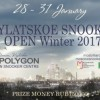 В Москве состоится международный турнир Krylatskoe Snooker Open Winter 2017