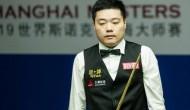 Дин Джуньху вышел в 1/8 финала турнира Shanghai Masters 2019