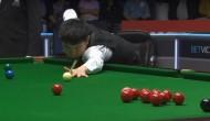 Красивый клиренс от Юаня Сыцзюня в 1/16 финала турнира German Masters 2020