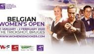 Belgian Women's Open 2020. Результаты, турнирная таблица