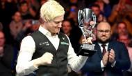 Робертсон беспощадно обыграл Чжоу Юэлуна в финале на турнире European Masters 2020