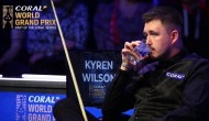 Кайрен Уилсон сделал брейк в 129 очков в 1/2 финала турнира World Grand Prix 2020