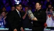 Награждение и интервью после завершения финала турнира Welsh Open 2020