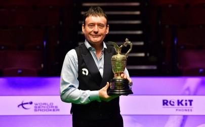 Джимми Уайт выиграл третий Чемпионат Мира среди сеньоров