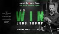 Джадд Трамп сделал брейк 105 очков в 1 раунде Northern Ireland Open 2020