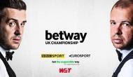 Брейки Селби 121 и 117 очков в 1/8 Чемпионата Великобритании 2020