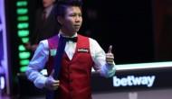 141 от Чжоу Юэлун в 1/2 финала Чемпионата Великобритании 2020