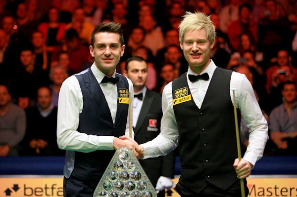Selby  In Masters Final