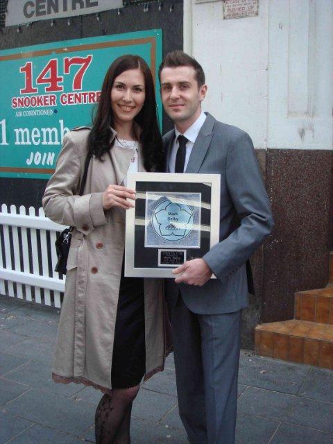 Светлана Пармар и Марк Селби