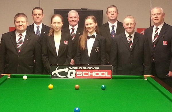 Referees At Q School 2013