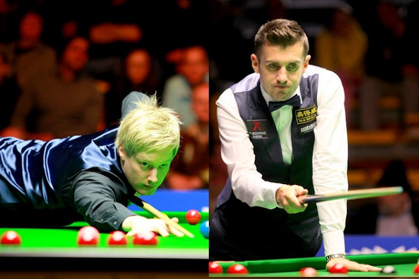 Neil Robertson vs Mark Selby