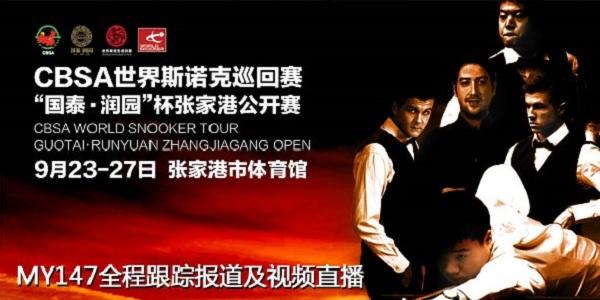 Zhangjiagang Open 2013