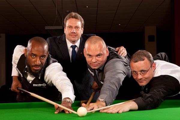 Stuart Bingham, Rory McLeod, Martin Gould, Sean O'Sullivan, Jason Francis, Stephen Feeney