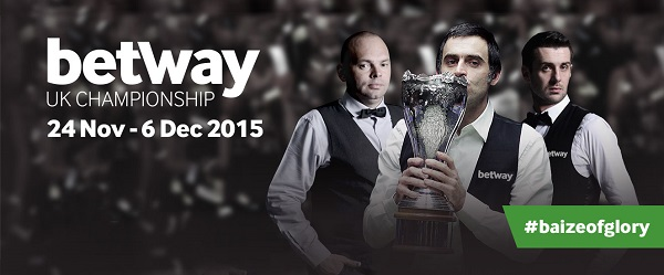 Betway UK Snooker Championship 2015