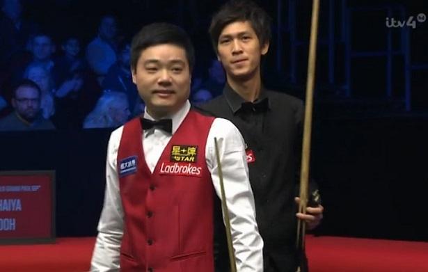 Дин Джуньху и Тепчайа Ун-Ну