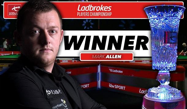 Марк Аллен - победитель Ladbrokes Players Championship 2016