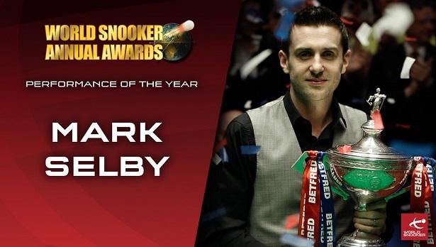 Марк Селби победил в номинации Performance of the Year