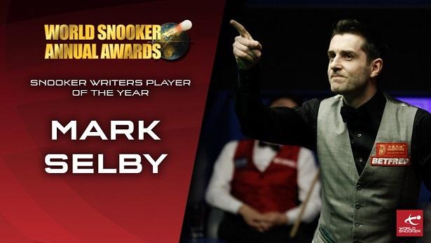 Марк Селби победил в номинации Snooker Writers Player of the Year