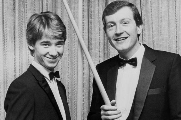 Стивен Хендри и Стив Дэвис (фото: mirror.co.uk)