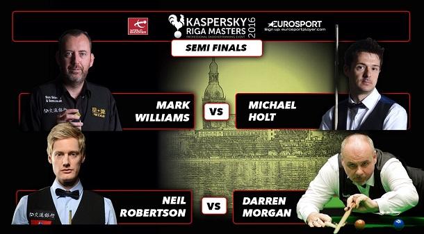 Полуфинал Kaspersky Riga Masters 2016