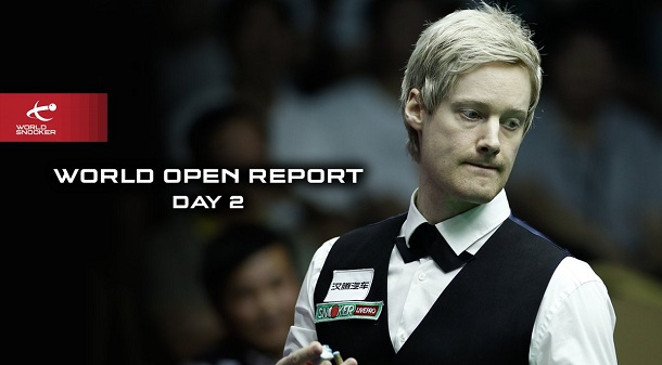 Второй день (фото: World Snooker)