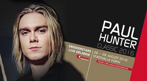 Paul Hunter Classic 2016