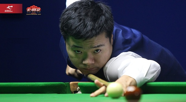 Дин Джуньху (фото: World Snooker)