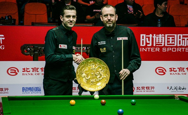 Марк Селби, трофей China Open и Марк Уильямс