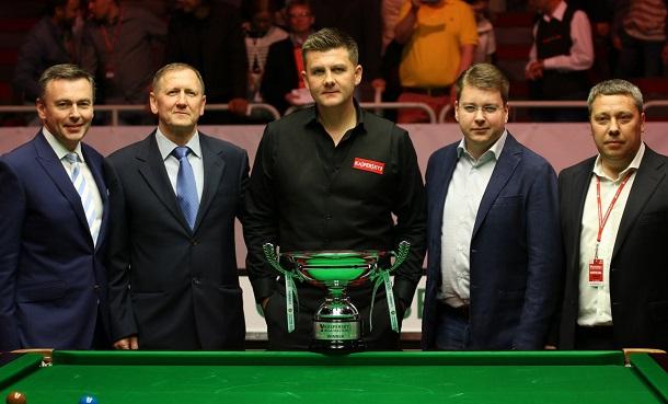Райан Дэй - победитель Riga Masters 2017
