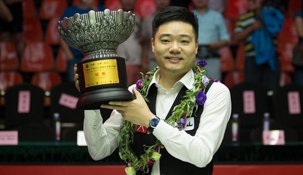 Дин Джуньху - победитель World Open 2017