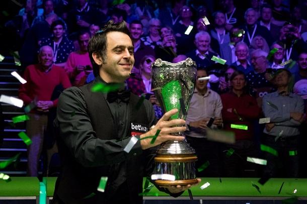 Ронни О'Салливан - победитель UK Championship