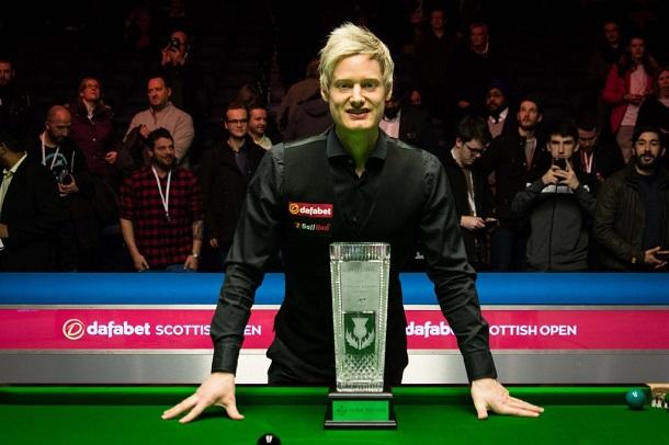 Нил Робертсон - победитель Scottish Open 2017